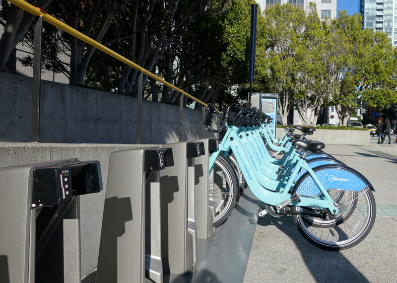 Bike Share line formations are popping up everywhere in the city